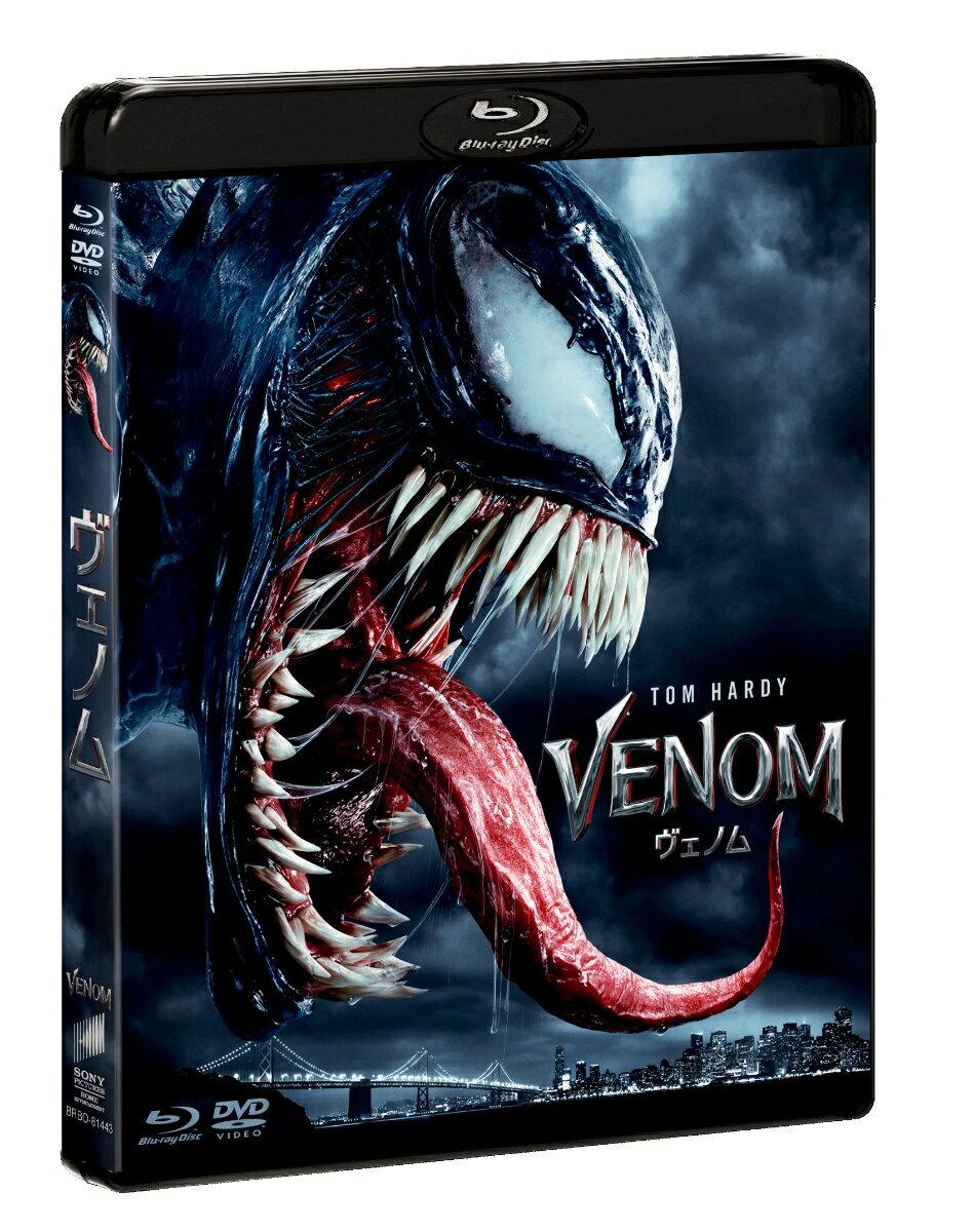 【タイムセール】ヴェノム ブルーレイ&DVDセット【Blu-ray】