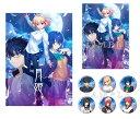 【楽天ブックス限定特典】月姫 -A piece of blue glass moon- PS4版(B2布ポスター(メインビジュアルver.)+缶バッジ 6個セット)