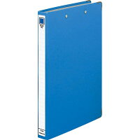 コクヨ ファイル ダブルファイル スプリング A4 2穴 200枚収容 青 フー230NB