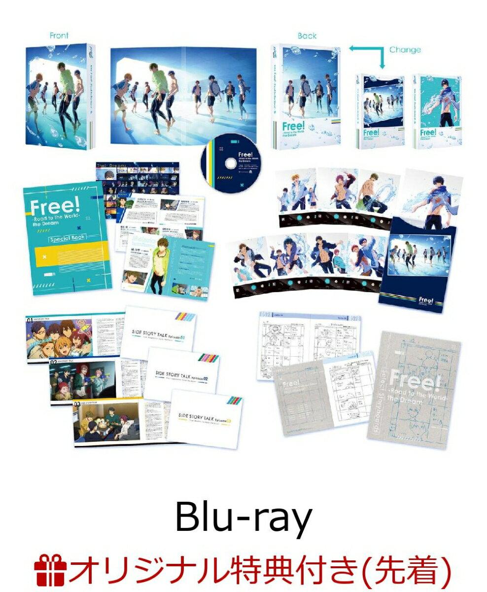 【楽天ブックス限定先着特典】Free! - Road to the World 夢 - (ICカードステッカー)【Blu-ray】