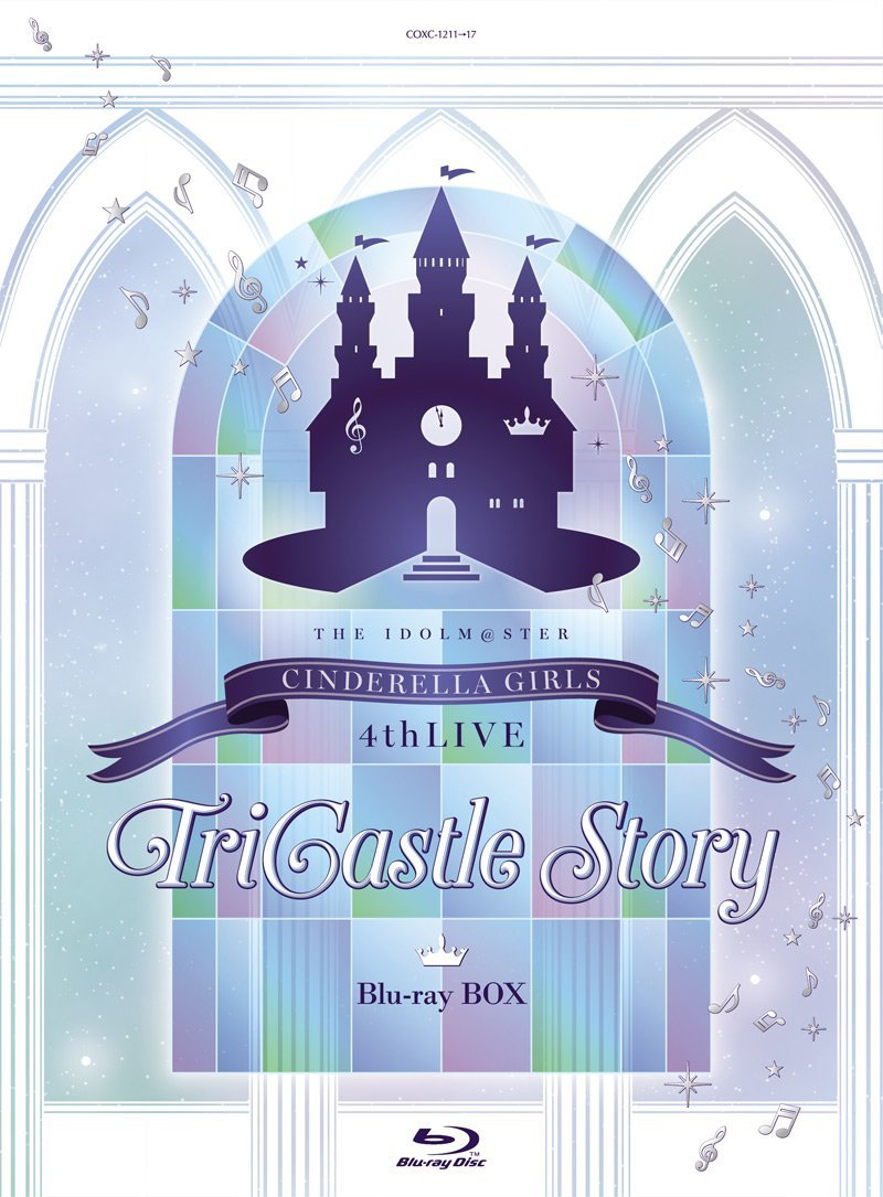 THE IDOLM@STER CINDERELLA GIRLS 4thLIVE TriCastle Story(初回限定生産)【Blu-ray】
