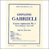 【輸入楽譜】ガブリエーリ, Giovanni: 第7旋法による8声のカンツォン 第1番