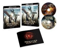 『映画 モンスターハンター』4K Ultra HD Blu-ray&Blu-ray セット【4K ULTRA HD】