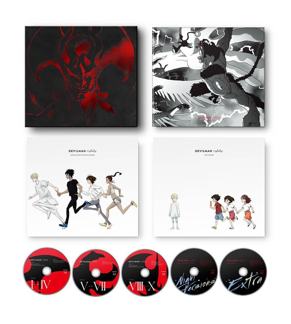 アニメ, キッズアニメ DEVILMAN crybaby COMPLETE BOX()Blu-ray
