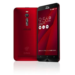 ASUS ZenFone2 32G レッド/4Gメモリ