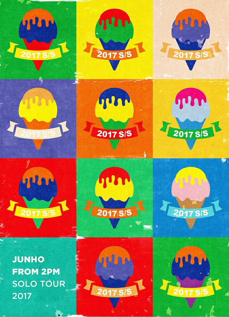 """JUNHO (From 2PM) Solo Tour 2017 """"2017 S/S""""(完全生産限定盤)【Blu-ray】"""