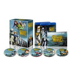 スター・ウォーズ:クローン・ウォーズ シーズン1-5 コンプリート・セット【Blu-ray】 …