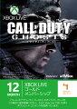 Xbox Live 12ヶ月 + 1ヶ月ゴールドメンバーシップ コール オブ デューティ ゴーストの画像