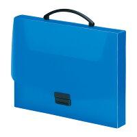 バッグ A4 青