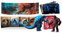 ゴジラvsコング 完全数量限定生産4枚組 ムービーモンスターシリーズ GODZILLA VS. KONG SPECIAL SET 同梱【4K