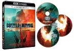 ゴジラvsコング 4K UHD Blu-ray3枚組【4K ULTRA HD】 [ アレクサンダー・スカルスガルド ]