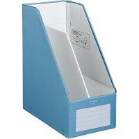 コクヨ ファイルボックスS ワイドタイプ A4 青 フーEW450B