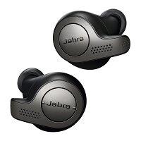 Jabra 完全ワイヤレスイヤホン Elite 65t Titanium Black
