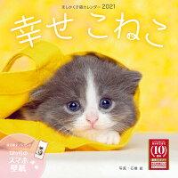 ましかく子猫カレンダー幸せこねこ(2021)