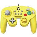 おなじみ形状のコントローラーが登場!  Nintendo Switch用ゲームパッドです。 長時間ゲームプレイしても疲れにくい軽量設計です。    ■ 押しやすい形状のボタン大きくて押しやすい形状のボタンで、快適にゲームを楽しむことができます。 また、L/RとZL/ZRのボタン機能の割り当てを切り替えることができます。 お客様の遊びやすいボタン配置でゲームプレイをすることができます。   ■ 3段階の連射機能搭載秒間約5・10・20回の3段階で連射、連射ホールドが設定可能です。   設定可能ボタンAボタン / Bボタン / Xボタン / Yボタン / Lボタン / Rボタン / ZLボタン / ZRボタン / 十字ボタン(上下左右)  ※十字ボタンは、連射のみ設定可能です。   ■ 手が滑りにくいグリップグリップ部分には特殊表面処理が施されており、手が滑りにくくなっています。    ■ USB接続 Nintendo SwitchドックにUSB接続 してゲームプレイができます。 複数台接続可能。     ※本品はNintendo Switch ドックに接続してご使用ください。Nintendo Switch本体には接続できません。  ※本品は右の機能を搭載しておりません。これらの機能を使用するゲームでは快適にプレイすることができません。  ※任天堂純正のJoy-ConやNintendo Switch Proコントローラーとはボタン配置が異なりますので、ゲームによっては遊びにくい場合がございます。