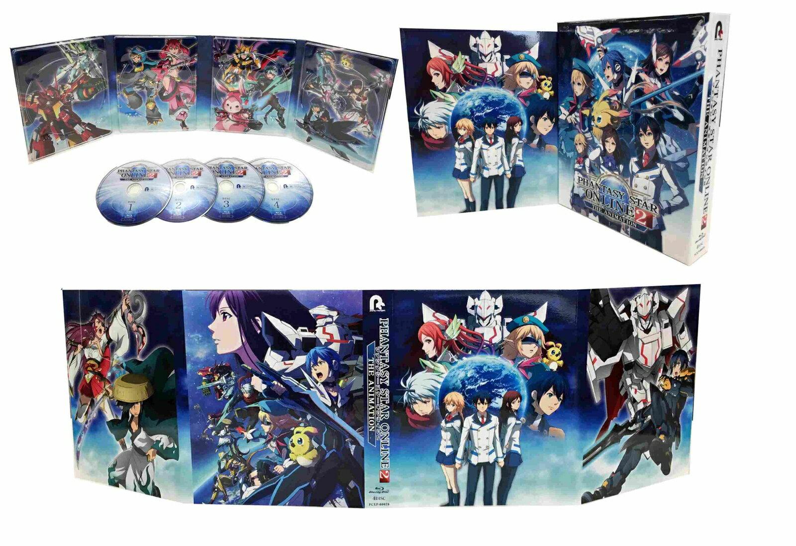 ファンタシースターオンライン2 ジ アニメーション Blu-ray BOX【Blu-ray】画像