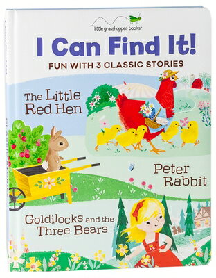 I Can Find It! Fun with 3 Classic Stories: The Little Red Hen / Peter Rabbit / Goldilocks and the Th画像