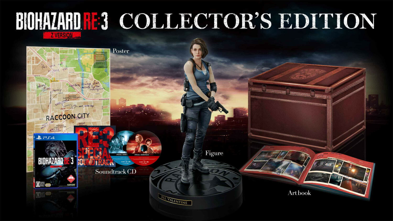 BIOHAZARD RE:3 Z Version COLLECTOR'S EDITION