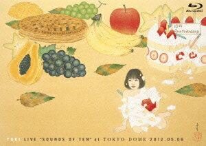【楽天ブックスならいつでも送料無料】YUKI LIVE SOUNDS OF TENat TOKYO DOME 2012.05.06【Blu-...