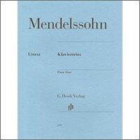 メンデルスゾーン, Felix: ピアノ三重奏曲 第1番 二短調 Op.49、第2番 ハ短調 Op.66