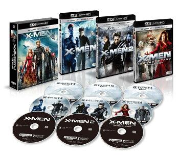 X-MEN 4K ULTRA HD トリロジーBOX <9枚組>【4K ULTRA HD】