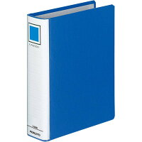 コクヨ パイプ式ファイル Kファイル A5縦 青 40mm 400枚 2穴 フーE842B