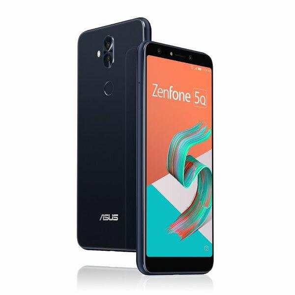 ASUS Zenfone 5Q Seriesミッドナイトブラック ZC600KL-BK64S4