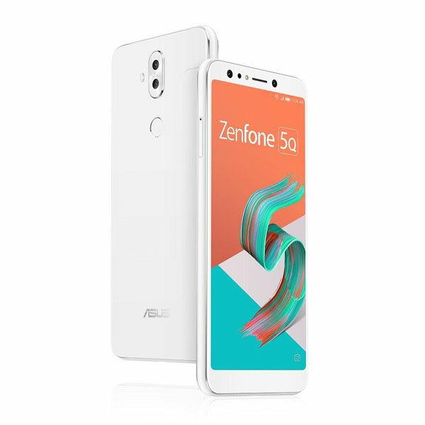 ASUS Zenfone 5Q Seriesムーンライトホワイト ZC600KL-WH64S4