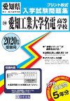 愛知工業大学名電高等学校(2020年春受験用) (愛知県国立・私立高等学校入学試験問題集)