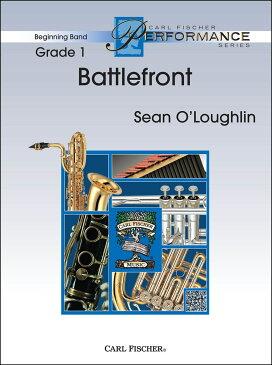 【輸入楽譜】オラフリン, Sean: バトルフロント: スコアとパート譜セット [ オラフリン, Sean ]