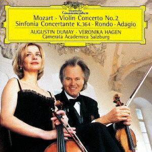 モーツァルト:協奏交響曲/ヴァイオリン協奏曲 アダージョ/ロンド画像