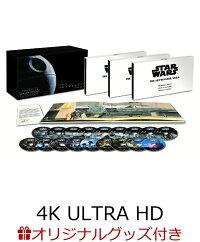 【楽天ブックス限定】スター・ウォーズ スカイウォーカー・サーガ 4K UHD コンプリートBOX(数量限定)+オリジナル4連アクリルキーホルダー+コレクターズカード3種セット【4K ULTRA HD】