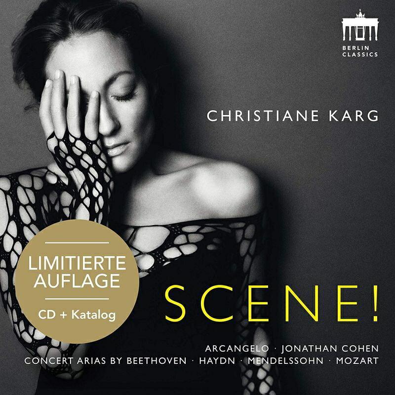 【輸入盤】Scene!: Christiane Karg(S) J.cohen / Arcangelo Martineau(Fp) Pogostkina(Vn) (+catalogue) (Ltd)画像