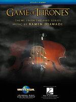 【輸入楽譜】ジャヴァディ, Ramin: HBO TVドラマ「ゲーム・オブ・スローンズ」のテーマ/チェロとピアノのための編曲