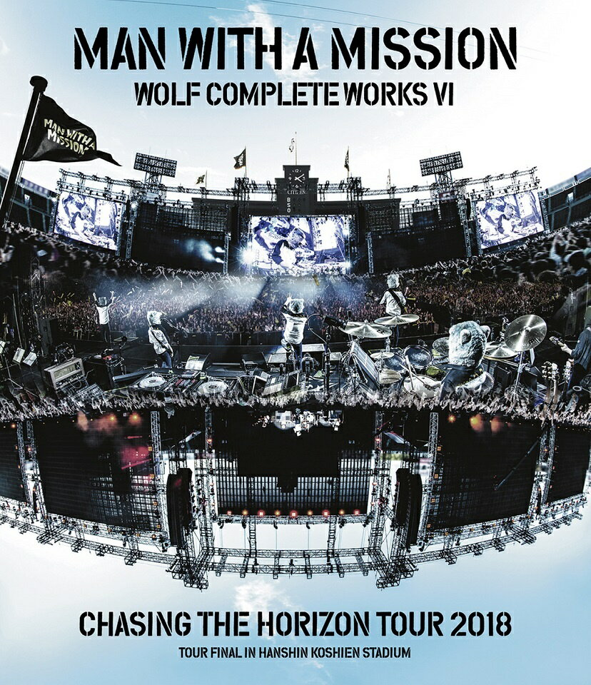 Wolf Complete Works VI ~Chasing the Horizon Tour 2018 Tour Final in Hanshin Koshien Stadium~【Blu-ray】