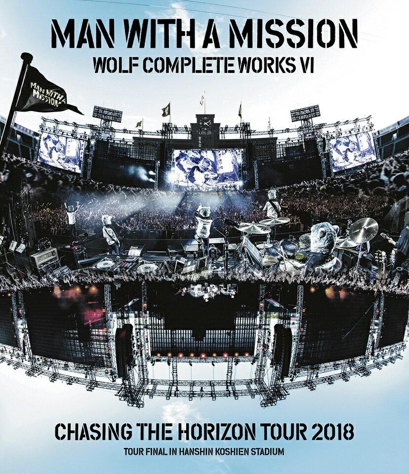 Wolf Complete Works VI 〜Chasing the Horizon Tour 2018 Tour Final in Hanshin Koshien Stadium〜【Blu-ray】画像