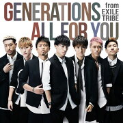 ALL FOR YOU (CD+DVD)