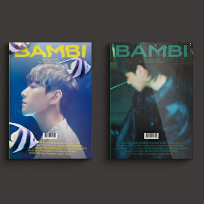 CD, 韓国(K-POP)・アジア 3rd Mini Album: Bambi (Photo Book Ver.) () BAEKHYUN (EXO)