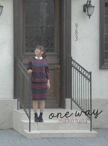 【楽天ブックスならいつでも送料無料】one way (初回限定盤 CD+DVD) [ 藤田麻衣子 ]