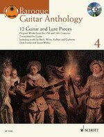 【輸入楽譜】バロック・ギター・アンソロジー 第4巻: ギターとリュートのための12の小品集