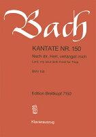 【輸入楽譜】バッハ, Johann Sebastian: カンタータ 第150番「主よ、われら汝を求む」 (独語・英語)