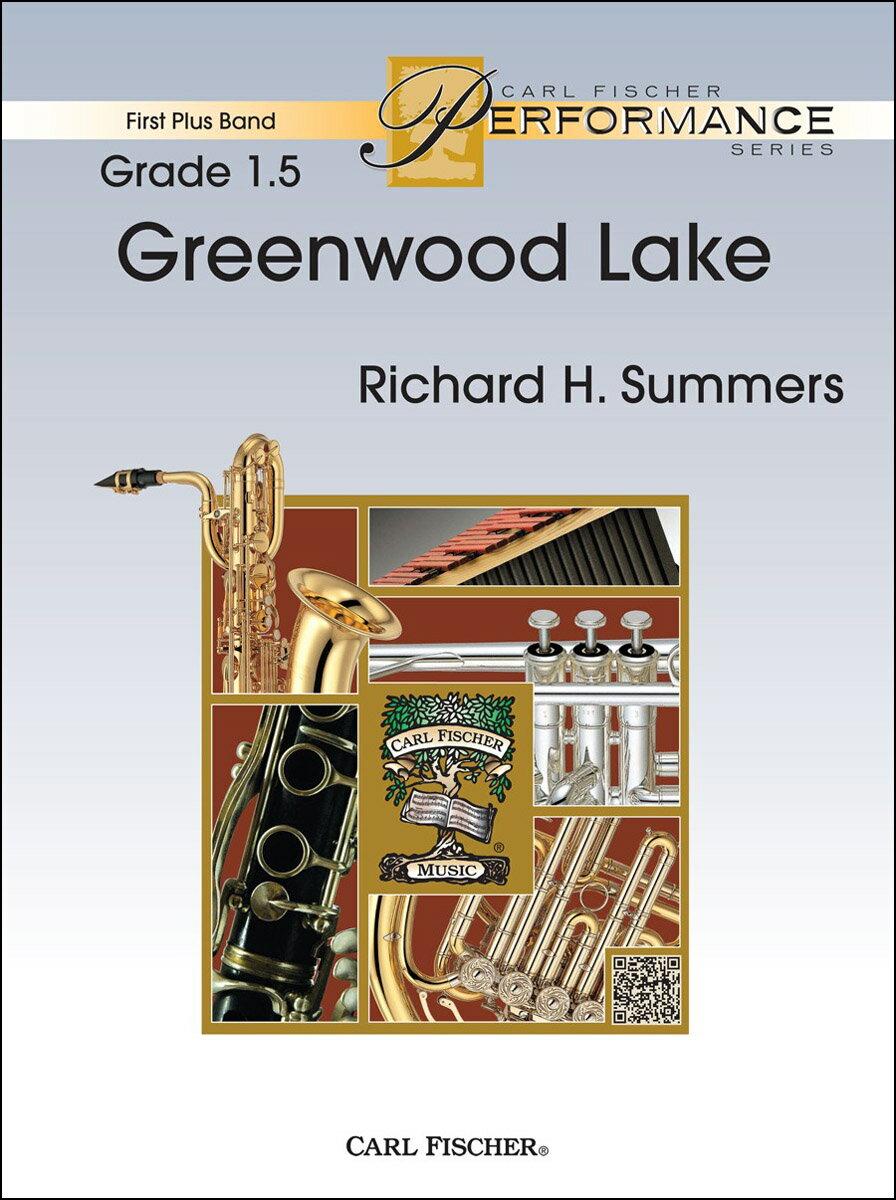 【輸入楽譜】サマーズ, Richard H.: グリーンウッド・レイク: スコアとパート譜セット画像