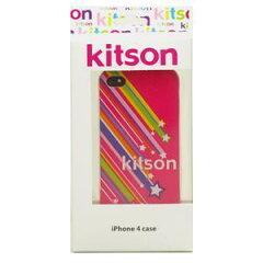 【送料無料】Kitson iPhone4 ケース(星 ピンク) KSIPA4HCPT-STPK