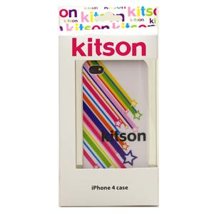 【送料無料】Kitson iPhone4 ケース(星 ホワイト) KSIPA4HCPT-STWH