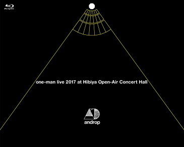 one-man live 2017 at 日比谷野外大音楽堂【Blu-ray】 [ androp ]