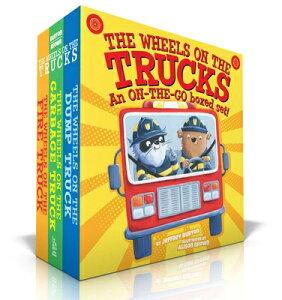 The Wheels on the Trucks: The Wheels on the Fire Truck; The Wheels on the Garbage Truck; The Wheels WHEELS ON THE TRUCKS BOXED SET (Wheels on The...) [ Jeffrey Burton ]