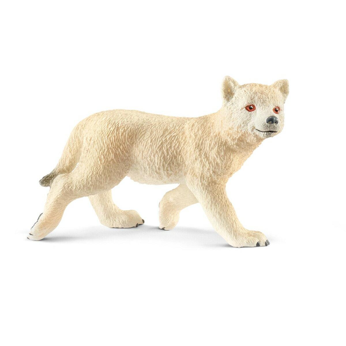 14804 ホッキョクオオカミ(仔) 【シュライヒ】 Wild Life/ワイルドライフ