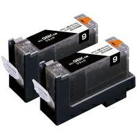 キヤノン BCI-9BK2P対応 エコリカ リサイクルインクカートリッジ ブラック