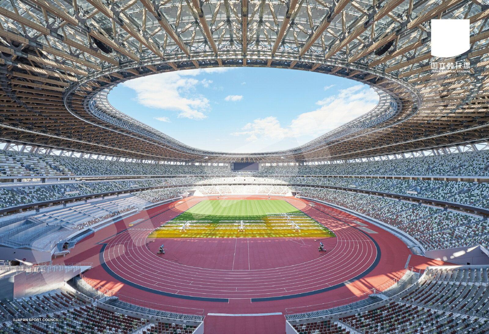 国立競技場 300-1770 国立競技場(2) ジグソーパズル