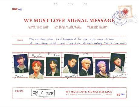 韓国(K-POP)・アジア, その他 3rd Mini Album: WE MUST LOVE ONF